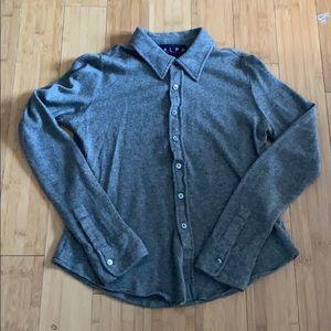 Silk and cashmere Ralph Lauren button up